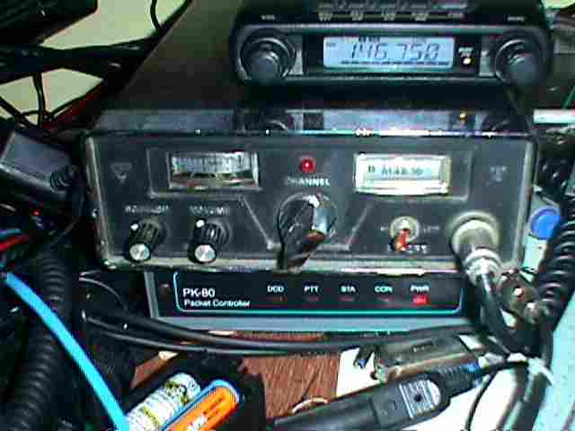 Yaesu FT-2FB and FT-1500 The FT-2FB (the middle box in the photo - below it ...